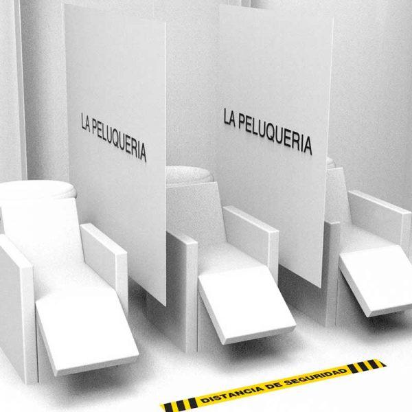 separadores de seguridad para lavacabezas
